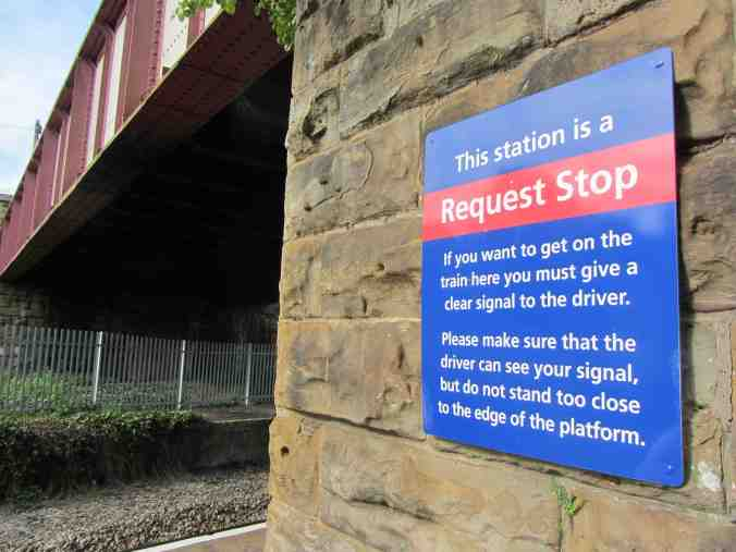 Burnley Barracks, Lancs - request stop instructions