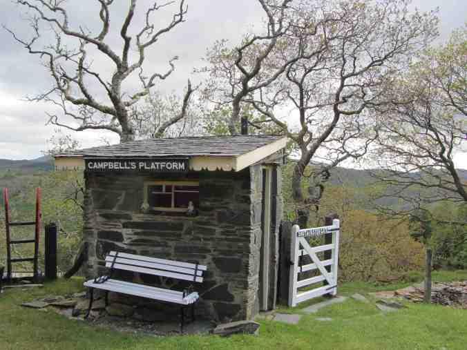 Campbell's Platform on Ffestiniog Railway, Gwynedd