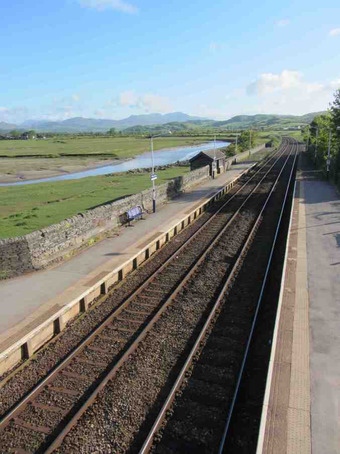 Kirkby-in-Furness, Cumbria - former home of world's longest station seat